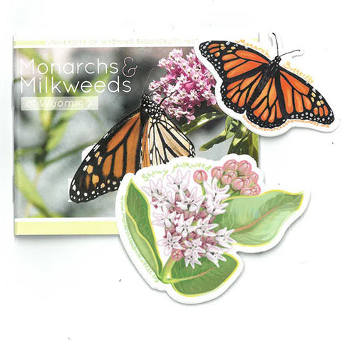 Monarchs and Milkweeds - with Stickers!