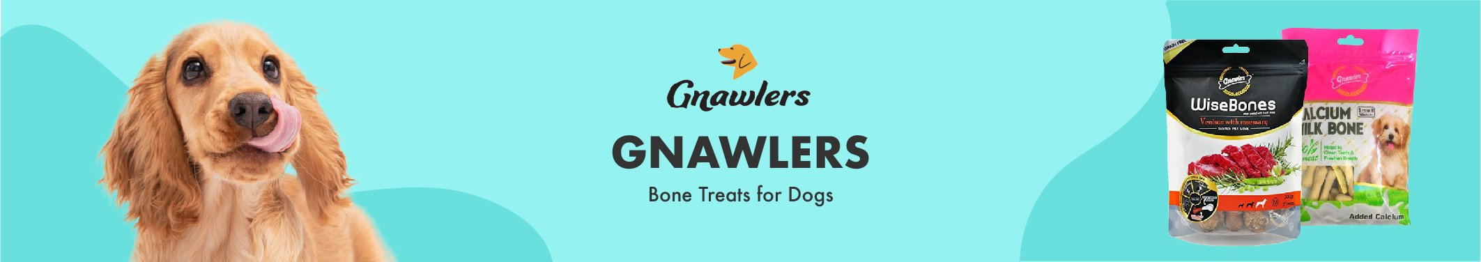 Gnawlers Bone Treats for Dogs