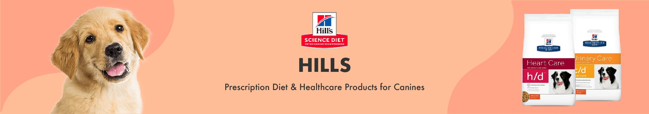 Hills Prescription Diet & Healthcare Products for Canines