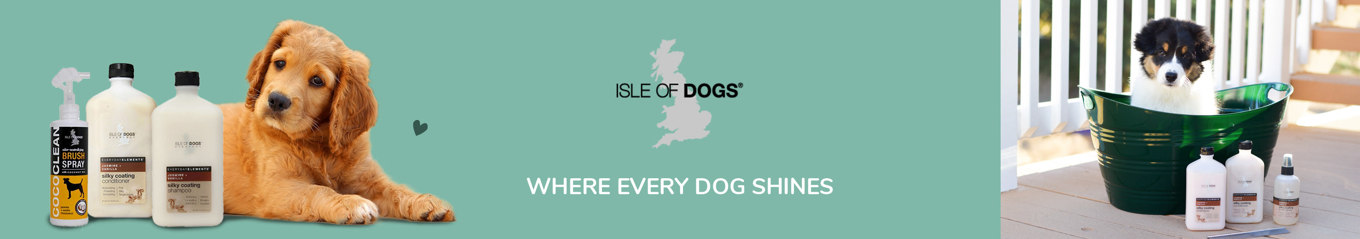 Isle of Dogs Premium Dog Grooming Products