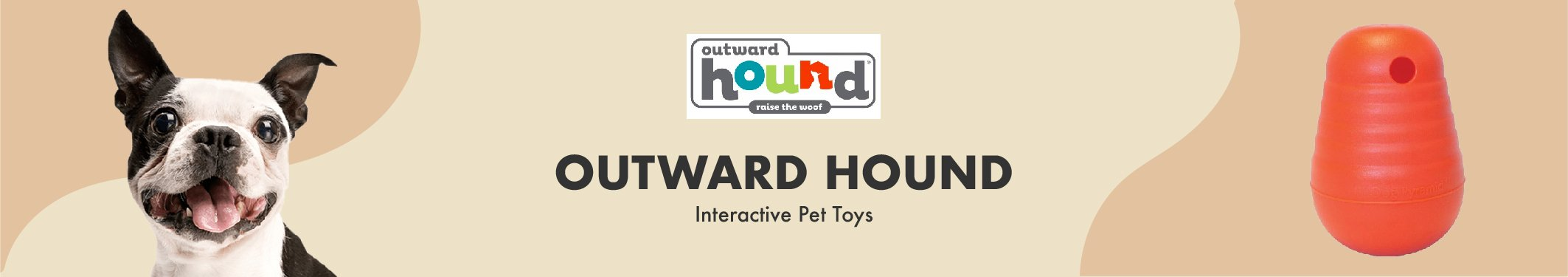 Outward Hound Interactive Pet Toys