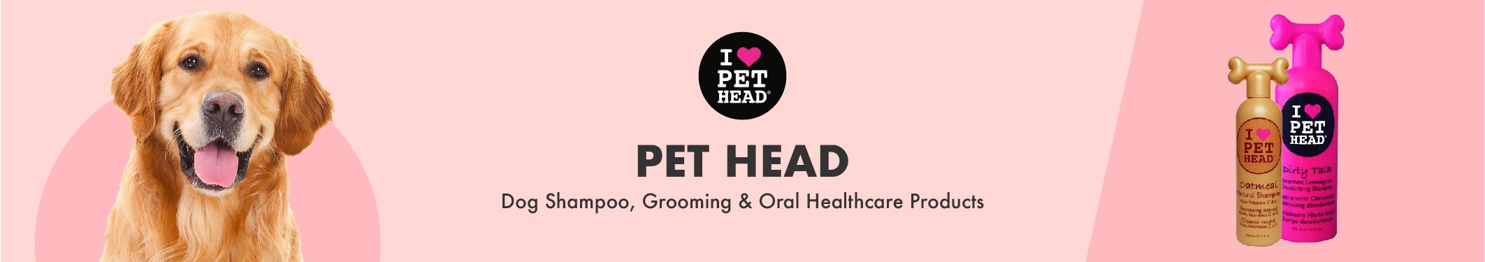 Pet Head Dog Shampoo, Grooming and Oral Healthcare Products