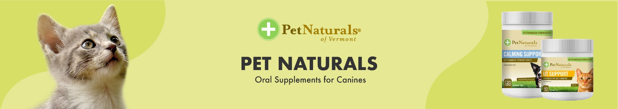 Pet Naturals Oral Supplements for Cats
