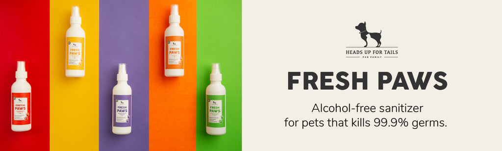 HUFT Fresh Paws Activated Water Sanitiser for Dogs and Cats - 200 ml
