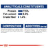 HUFT Adjustable Nylon Dog Leash - Navy Blue