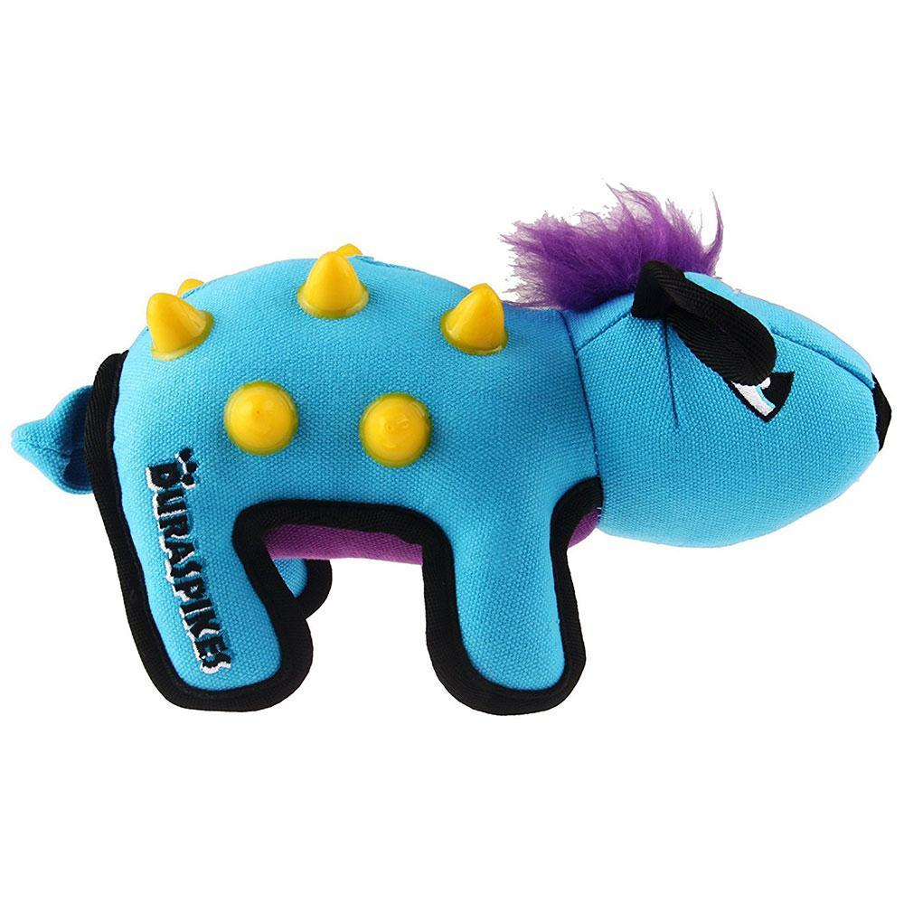 GiGwi Duraspikes Extra Durable Dog Toy Rabbit Light Blue
