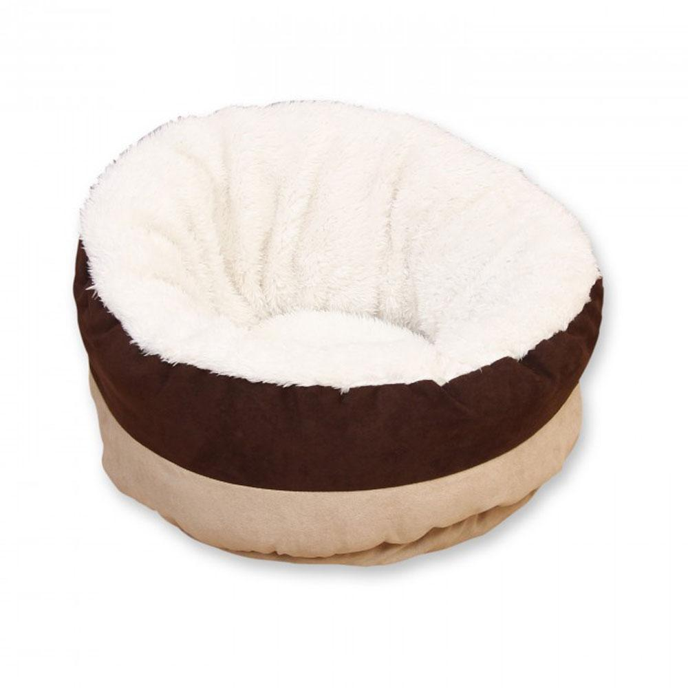 All For Paws Lambswool Snuggle Bed for Cats