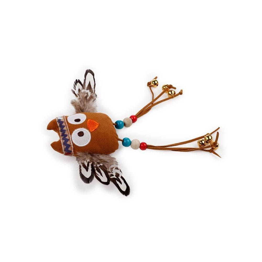All For Paws Dreamcatcher Dancing Owl Cat Toy