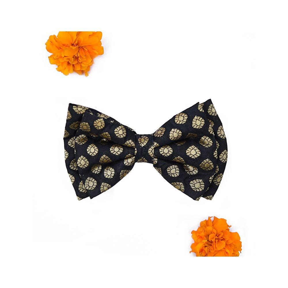HUFT Baraati Dog Bow Tie Black