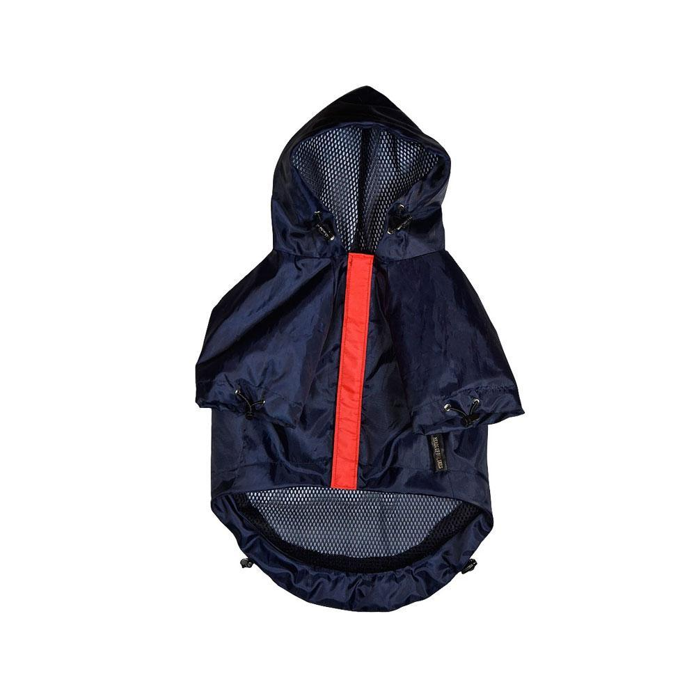 HUFT Navy Blue Raincoat for Dogs