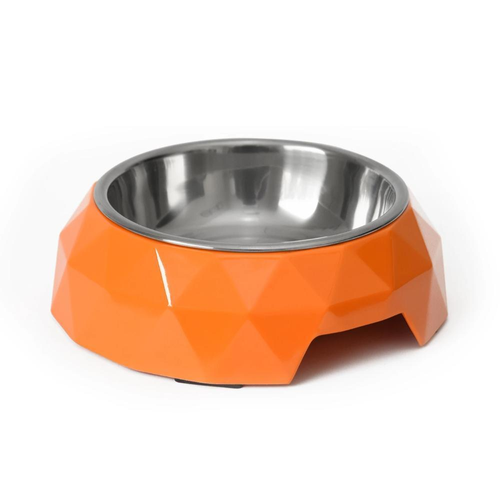 HUFT Diamond Dog Bowl Orange