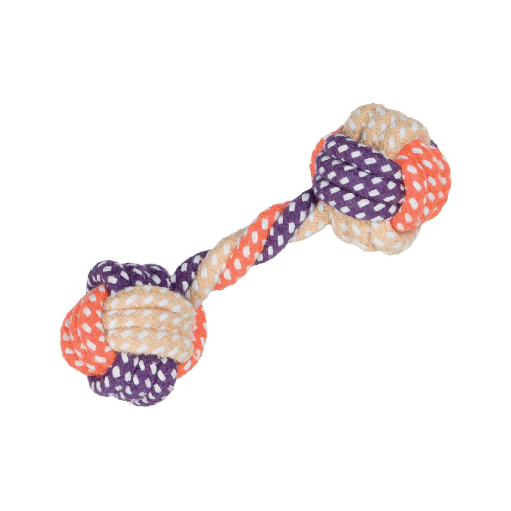 Trixie Dumbbell Rope Dog Toy 15 cm
