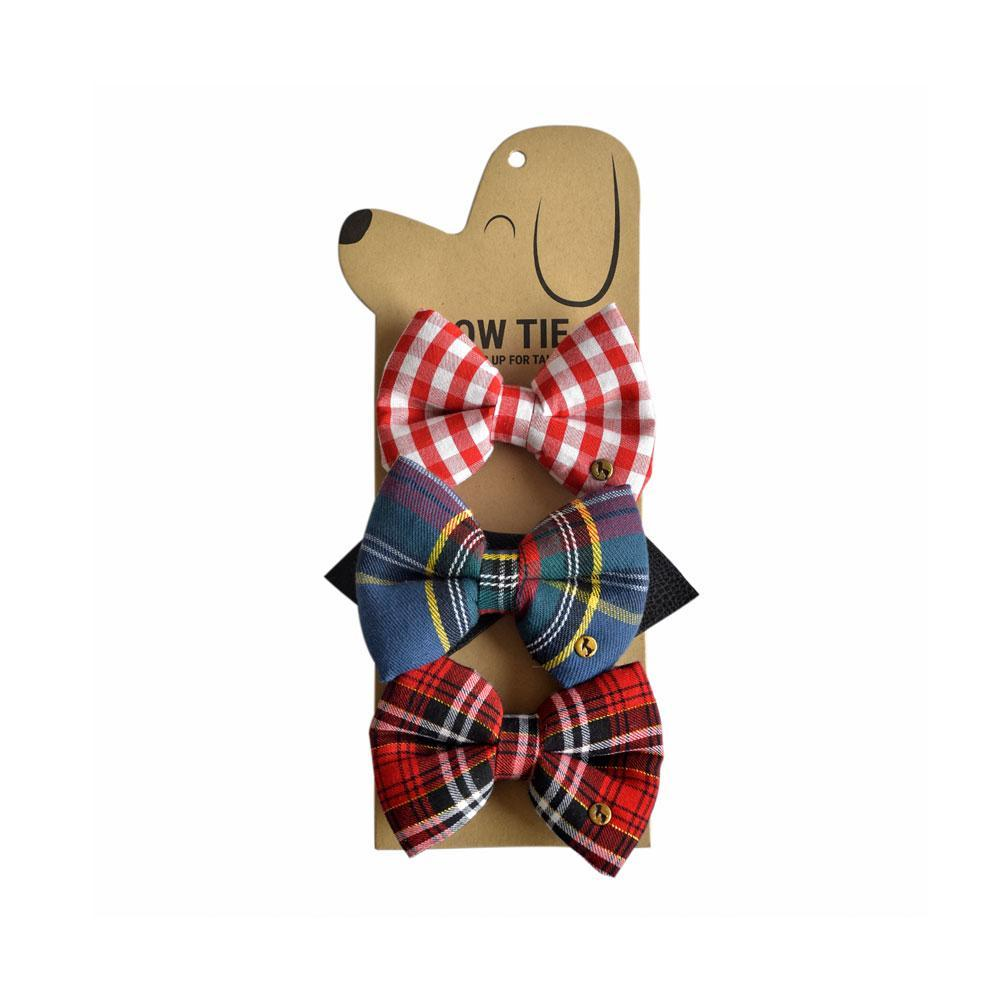 HUFT Jack Frost's Dog Bow Ties Set of 3