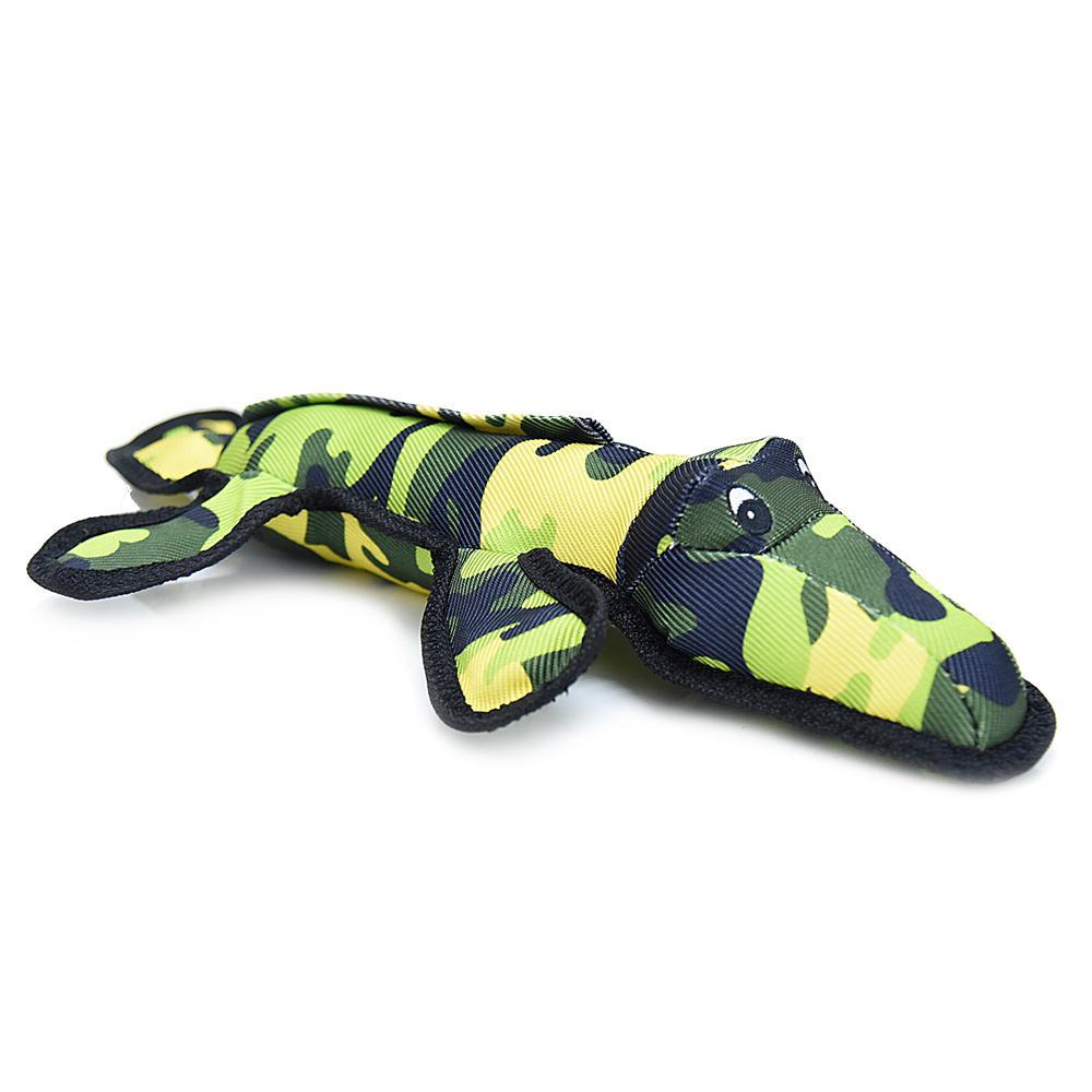 HUFT Big Buddy Collection Dog Toy Allie The Alligator