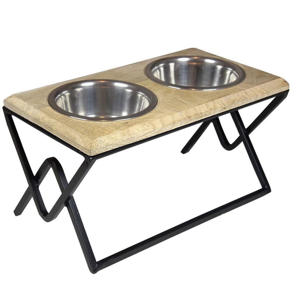HUFT Iron Dog Diner with Wooden Top