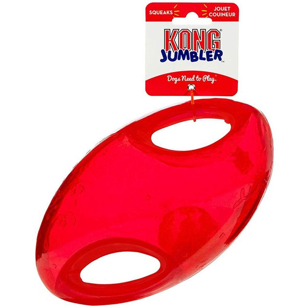 KONG Jumbler Football Dog Toy