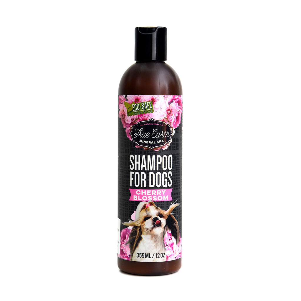 True Earth Cherry Blossom Mineral Spa Dog Shampoo 355 ml