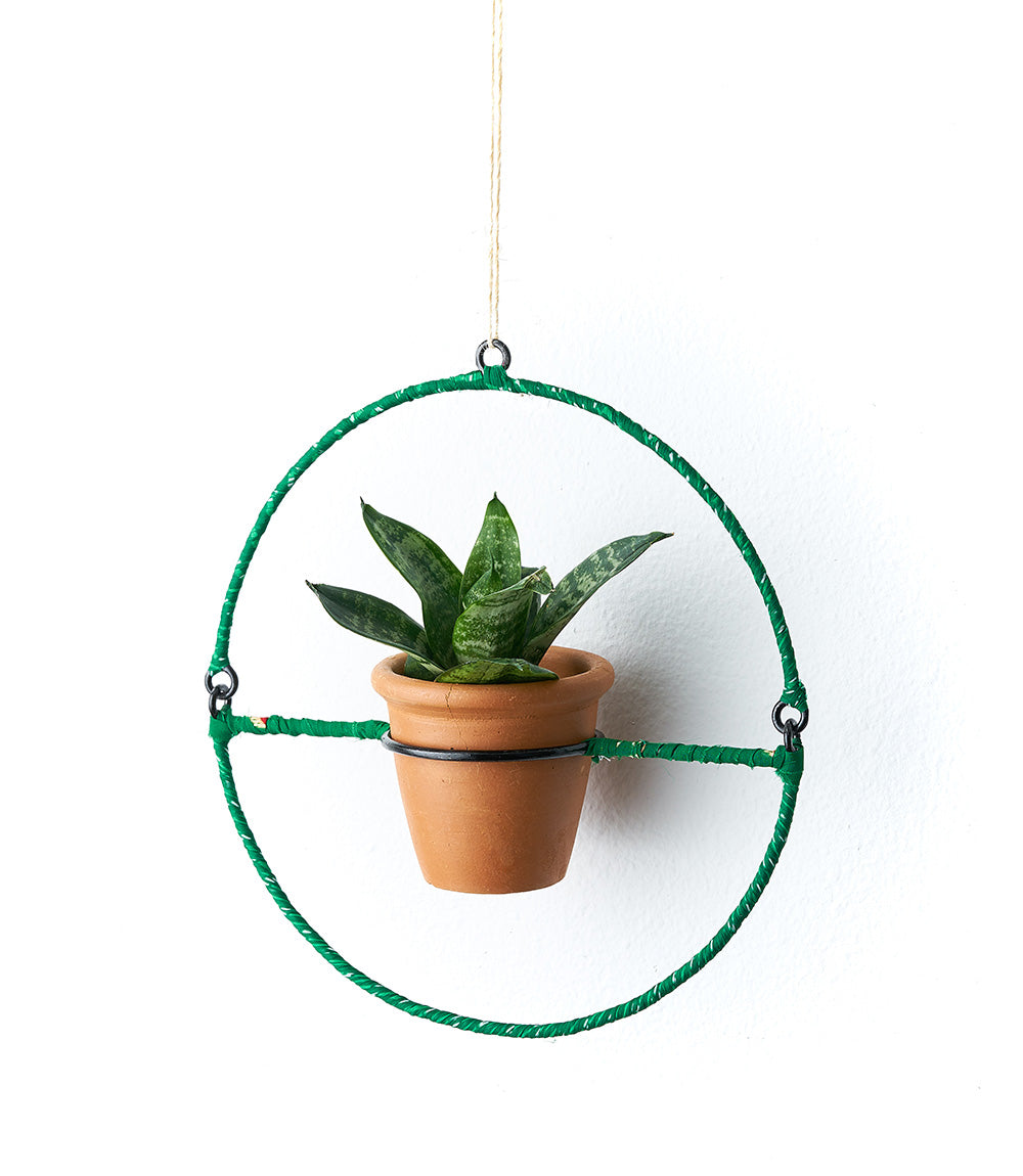 SARI AIR ELEMENT PLANTER - POT & FRAME