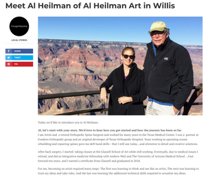 An article about Al Heilman and his Art
