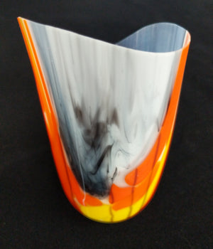 Orange Nature flow vessel