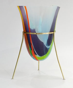 Texas Sky Glass Vessel