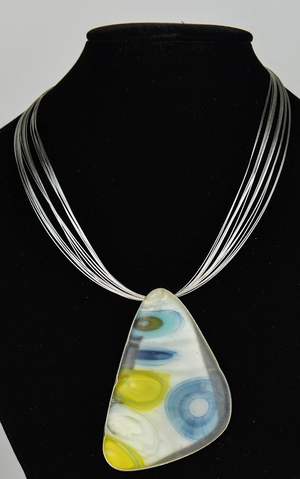 Murrini Glass Necklace