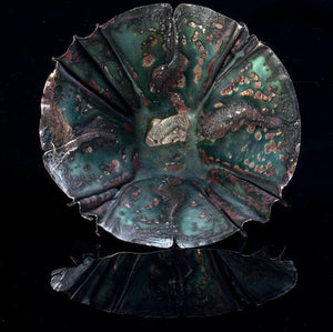 Copper Fold-Formed Bowl