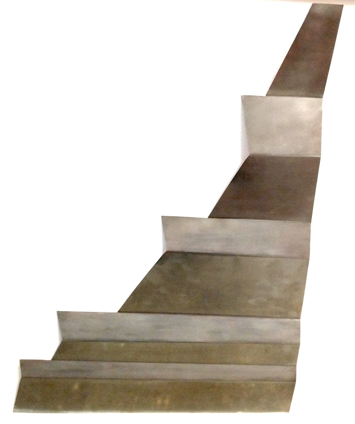 Fibonacci Sequence Stainless steel sculpture
