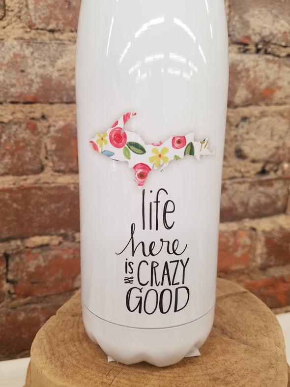 """Life Here"" Water Bottle"
