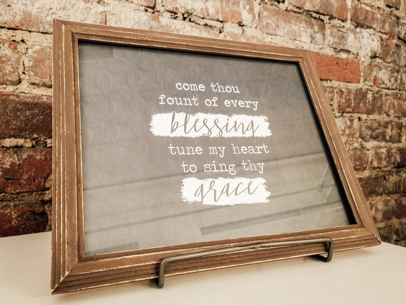 Come Thou Fount 8x10 Framed Print