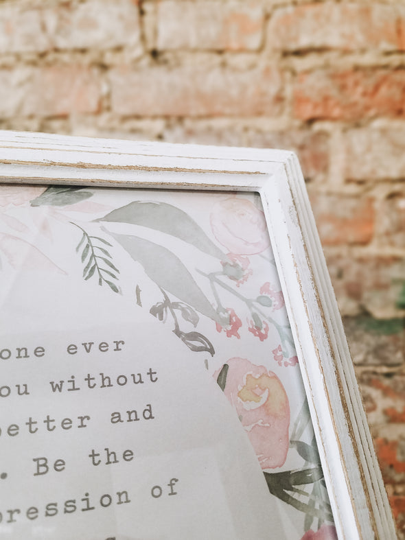 Mother Theresa Quote, 8x10 Framed Print