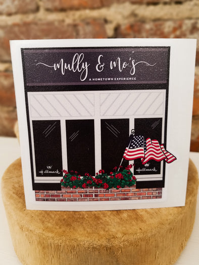 Mully & Mo's Storefront Decal