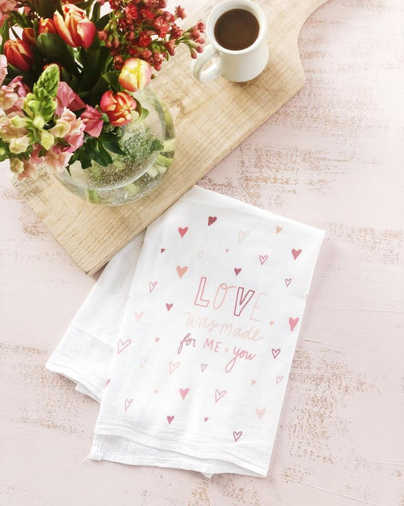 Love Flour sack Towel