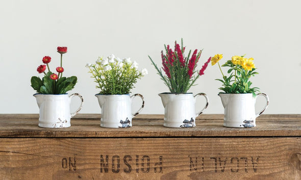 Faux Mini Flower Pots