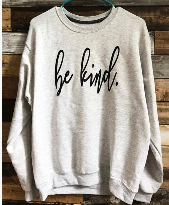 Be Kind Crewneck - DROP SHIP ONLY