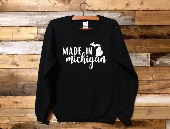 Made in Michigan Crewneck - DROP SHIP ONLY