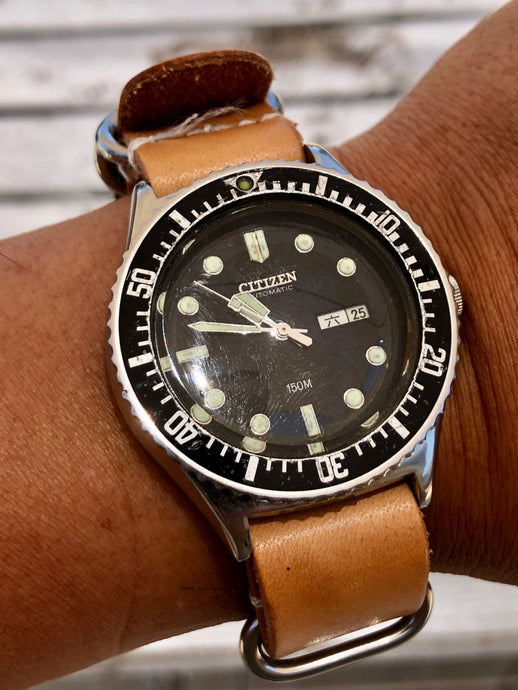Vintage Citizen Automatic Diver