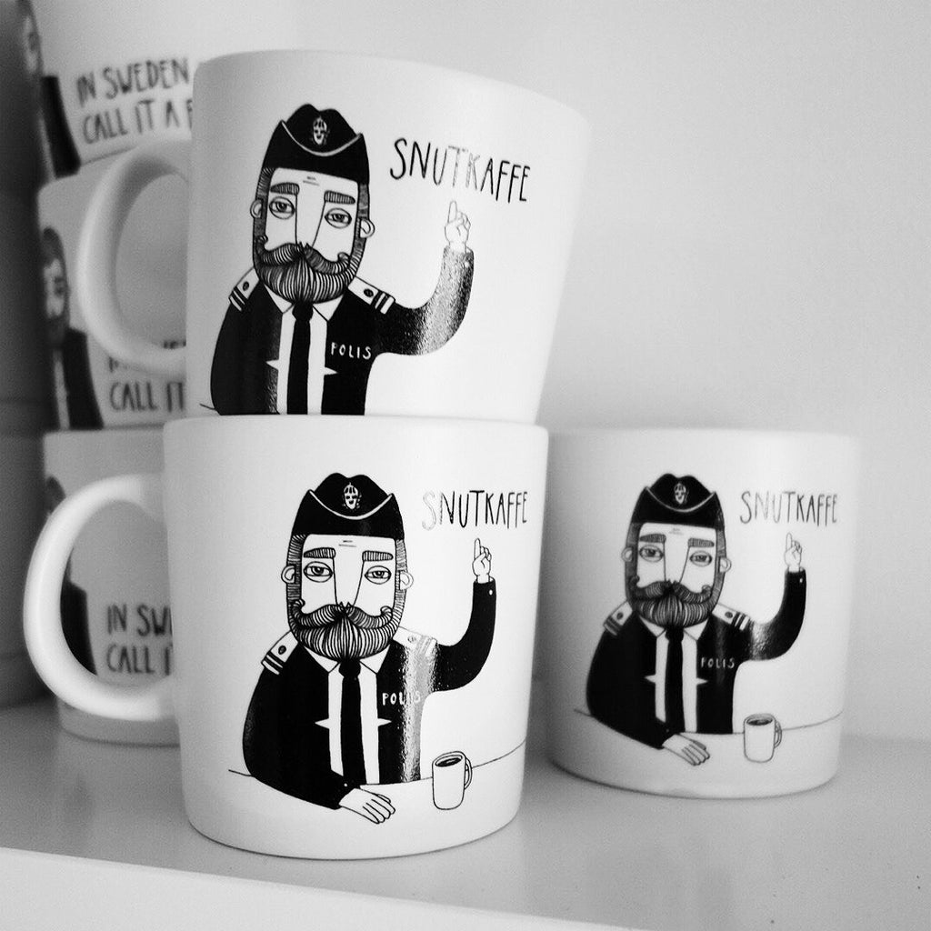Swedish Police coffee mug