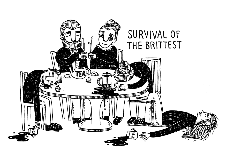 Survival of the brittest, print