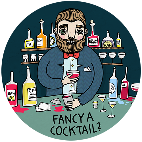 Underlägg - Fancy a cocktail