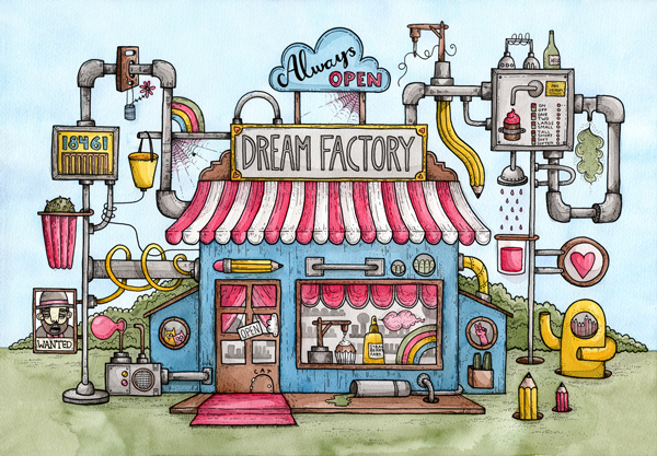 Dream Factory, Print