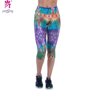Women's High Elasticity Fitness Gym Pants