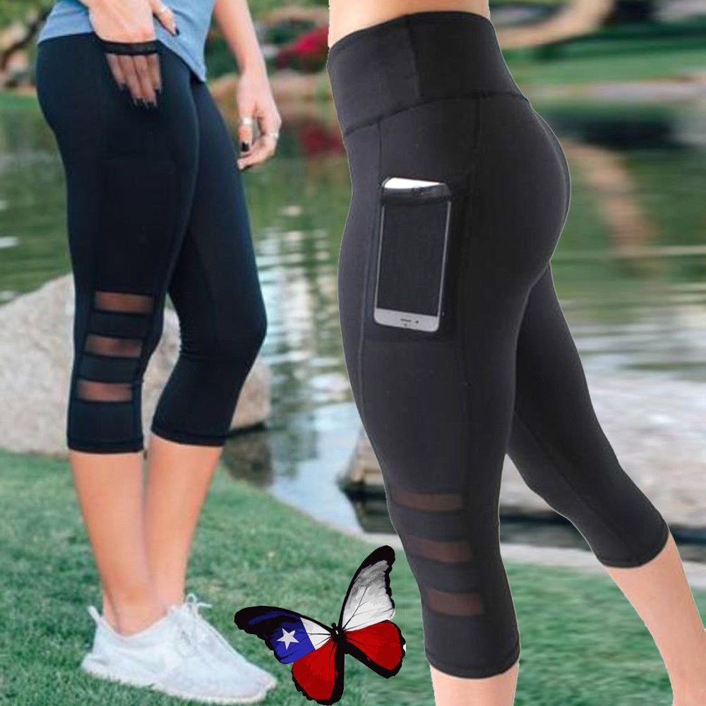 Women's Calfskin Yoga Leggings