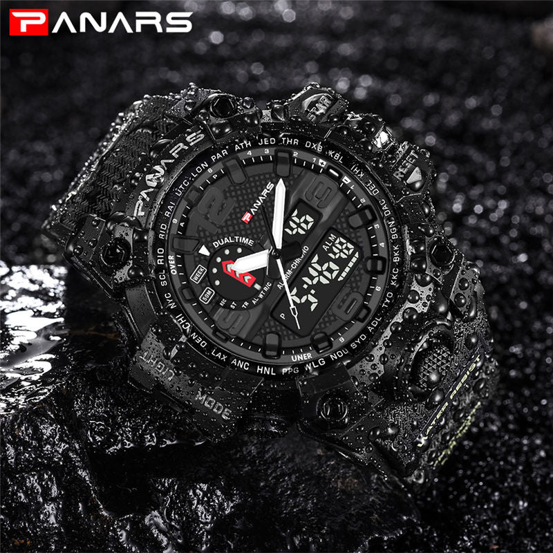Military Sports LED Waterproof Watch