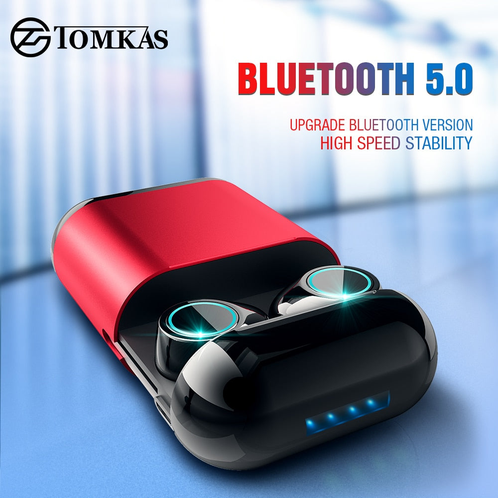 Earbud Wireless Headphones (Charging Box Included)