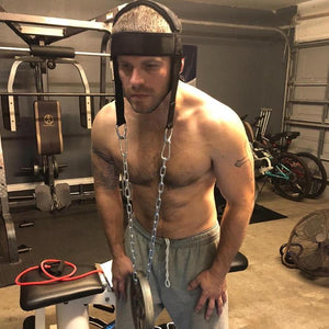Head Harness Weight Lifting Strength Exercise