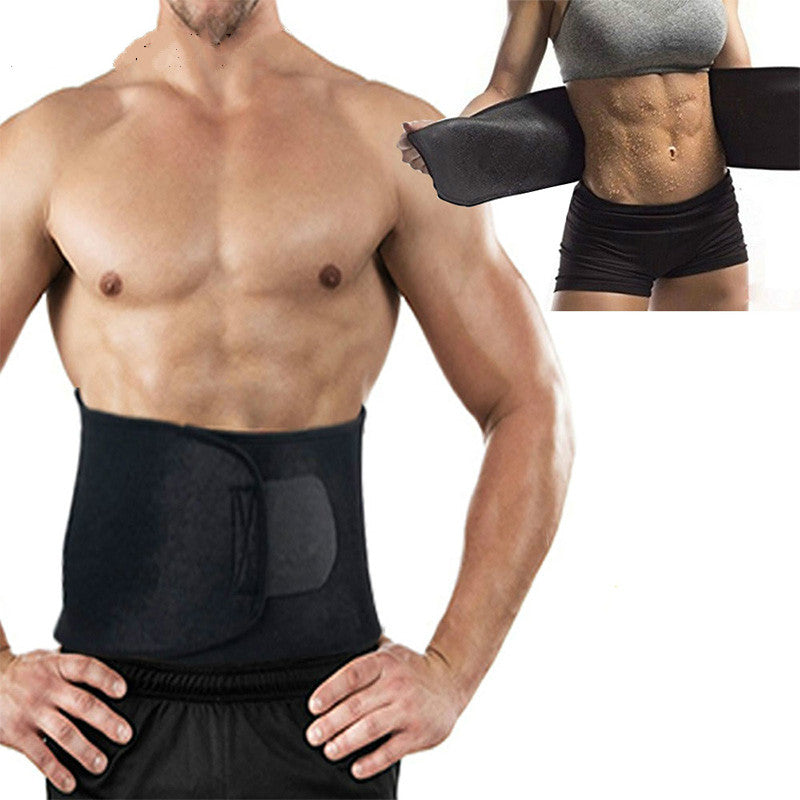 Premium Waist Trainer Sweat Belt For Men & Women