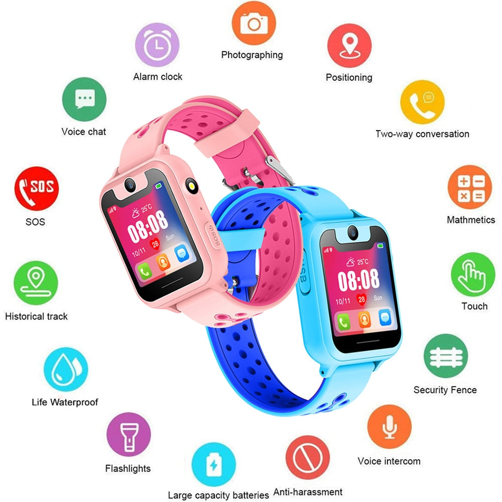 2019 Kids Smart Watch Anti-Lost Monitor