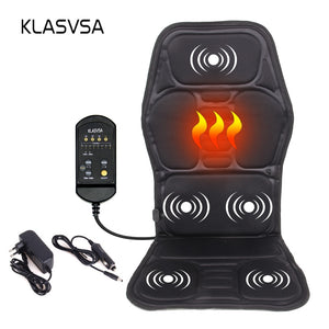 Electric Back Massage Chair Cushion Vibrator