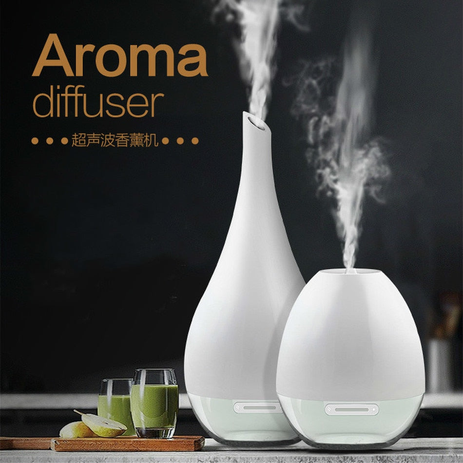 Air Humidifier Essential Oil Aroma Diffuser 7 Color LED Lights